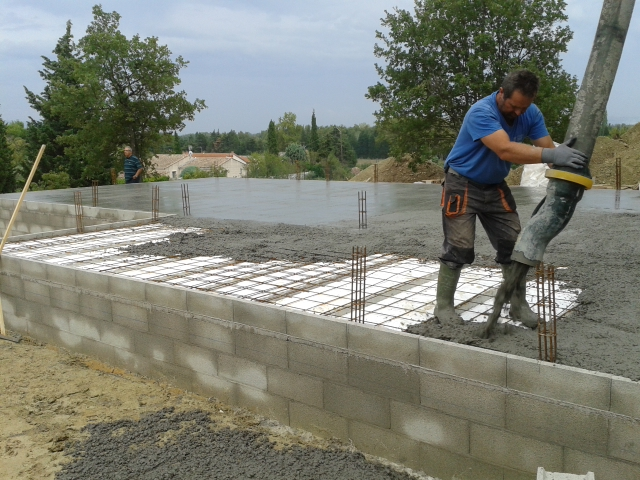 4 elevation vs et plancher vs - Coulage de dalle beton ...